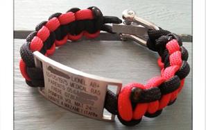 bracelet plaque medical oyne