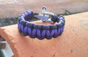Bracelet paracord London Oyne