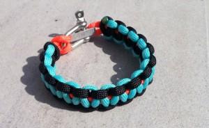 bracelet paracord oyne helium