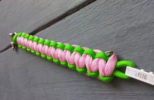 Bracelet paracord Øyne TNR