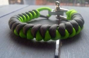 bracelet paracord Oyne edimbourg
